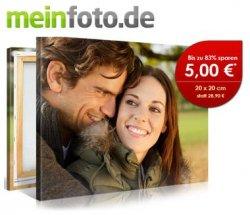 Kostenloses Leinwand-Bild im Format 20cmx20cm auf meinfoto.de (+ € 6,90 Versand)