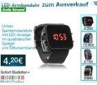 LED-Armbanduhren zum Ausverkauf ab 4,23 Euro @miniinthebox.com – nur bis Dienstag