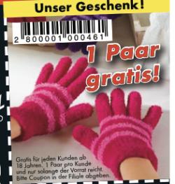 [Lokal] Gratis Handschuhe im Dänischen Bettenlager