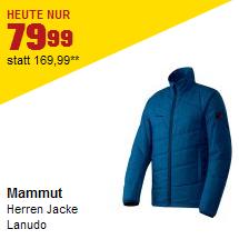 Mammut Herren Jacke Lanudo für 79,99€ statt 143€ – nur am 24.12. – gratis Versand (DE & AT)