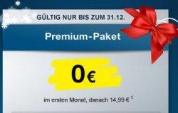 Maxdome Premium Packet 1 Monat gratis genießen nur noch bis Silvester !