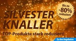 Sylvesterknaller bei fahrrad.de. Bis zu 80% Rabatt