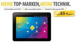 Technikartikel mit bis zu 65% + 10% Gutschein @Meinpaket.de – z.B. Easypix Easypad Android 4.0 Tablet für 169,65 € statt 209 €