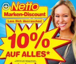 [Lokal] Verkaufsoffener Sonntag und 10% auf ALLES bei Netto-Markendiscount