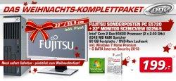 Weihnachts-Komplettpaket (PC & Monitor) @one.de für nur 199 €uro