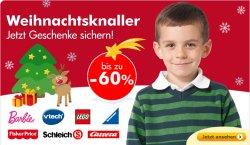 WEIHNACHTSKNALLER bei myToys.de – Geschenke bis zu 60% reduziert!