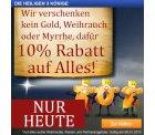 10% Gutschein auf (fast) alle Artikel – Nur HEUTE bei plus.de