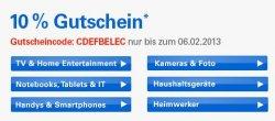 10% eBay-Gutschein auf viele Elektronikartikel