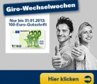 """100 Euro Prämie für die Eröffnung eines """"kostenfreien"""" Girokontos bei der 1822-Bank"""