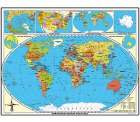 1,80 Meter Weltkarte laminiert für 7,92€ statt 49€ inkl Versand