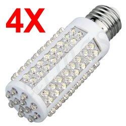 4er Set 108er LED-Birne weiß, E27 für 20,42€ inkl. Versand @eBay