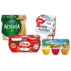 Beim Kauf von Danone-Produkten mit Coupon sparen, z.B. Actimel 8er