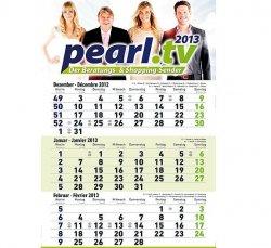 PEARL Jahreskalender 2013 mit praktischer Tagesanzeige GRATIS sichern
