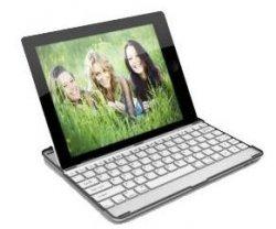 Bluetooth 3.0 Tastatur (Ladestation, Alu-Hülle) für iPad2 & iPad3 für 26,99€ @deals.preisvergleich.de