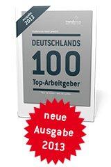 """Deutschlands 100 Top-Arbeitgeber 2013"": Kostenloses Buch per Post"