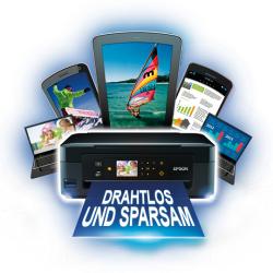 Die Rückkehr des EPSON Cashback! bis 40€ bei EPSON WiFi Drucker.