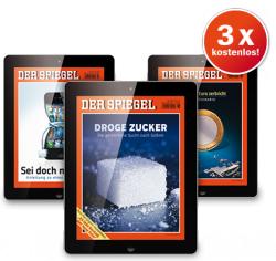 Drei digitale Ausgaben des Spiegel kostenlos mit Gutschein-Code!