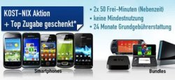 DuoVertrag bei handybude abschließen und kostenloses Handy, AppleTV, Konsolen (Playstation, Wii, …) erhalten!