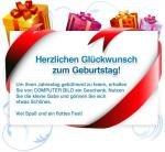 Für Geburtstagskinder: 20-Euro-Gutschein bei Medion sichern ohne MBW