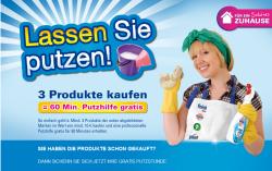 Gratis 1 Stunde Putzhilfe beim Kauf von 3 Produkten von Reckitt Benckiser