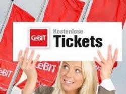 Gratis Eintrittskarte für die Cebit 2013
