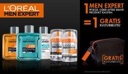 Gratis Men Expert Kulturbeutel (im Wert von 9,95€) beim Kauf eines Produktes @ amazon