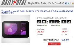 Liveshopping Angebote & Tablets ab 50 Euro bei eFox.de + o. versandkosten (Versand aus DEUTSCHLAND)