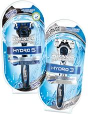 Nassrasierer Wilkinson Hydro 3 & 5 Limited Edition für jeweils 1,99€ + Rabattgutschein für neue Klingen