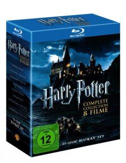 Neuer Saturn-Prospekt: z.B. Harry Potter Complete Box für 29,99 € DVD und 39,99 € Blu-Ray