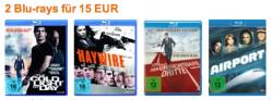 Nur noch bis Sonntag! > 2 Blu-ray Discs für 15 EUR < bei Amazon