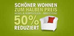 OTTO Kategorie Möbel / Wohnen  mindestens 50% Sale