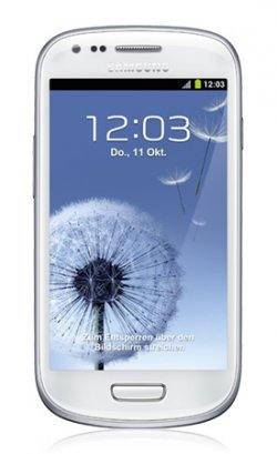 Samsung S3 mini (in marble white) 0,-€ mit 9,90€ Tarif O2 Blue XS bei getmobile