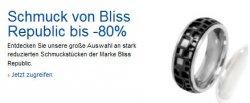 Schmuckstücke der Marke Bliss Republic bis zu 80% reduziert @amazon