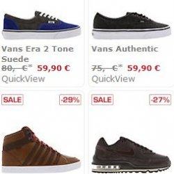 Sidestep Sale: bis zu 73 % Rabatt auf Sneaker, z.B. von Nike