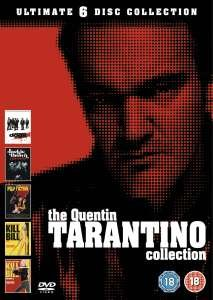 Tarantino Box [5 DVD] für 11,80€ bei Zavvi – gratis Versand – 2,36€ pro DVD