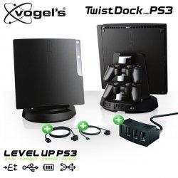 Vogels TwistDock für PlayStation 3 mit USB-Hub und Kabel-Set für 2,95€ + VSK (UVP: 139,85) @ iBOOD Home & Living