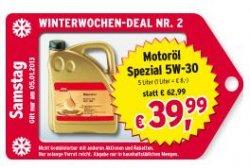 Winterwochen-Deal bei ATU – z.B. 5 Liter Motorenoel 5w30 Longlife für nur 39,99€ statt 62,99€