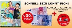 13 Monate die Fit For Fun zum effektiven Preis von 5,40 Euro anstatt 35,40€