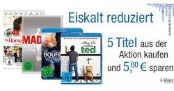 Amazon: 5 Tage Filmangebote DVDs und Blu-Rays (z.B. TV-Serien für 9,97 €)