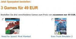 Amazon kontert MediaMarkt: 3 Games für 49€, z.B. Fifa 13 für 35€