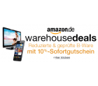 Amazon Warehouse-Deals: 10% Sofortrabattgutschein vom 04. bis 17.03.