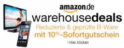 Amazon Warehouse-Deals: 10% Sofortrabattgutschein vom 04. bis 17.03.