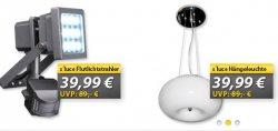 bis 75% Rabatt auf Lampen für Drinnen & Draußen bei MeinPaket.de