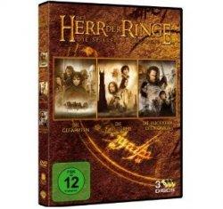 Der Herr der Ringe – Die Spielfilm Trilogie auf 3 DVDs für nur 9,97 Euro bei Amazon