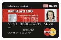 Deutsche Bahn: 2 Freifahrten durch BahnCard Kreditkarte mit 3.000 Prämienpunkten
