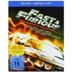 Fast & Furious 1-5 – The Collection Box [Blu-ray]  24,97€ inkl Versand @Amazon