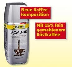 Gratis Probierpackung Jacobs Momente  – löslicher Kaffee