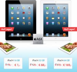 Gute Angebote für iPad und iPad mini inkl. Internetflat bis 5 GB ab 15 € mtl. @sparhandy