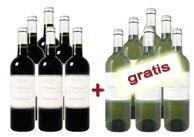 Inventur-Verkauf bei bei Weinvorteil  – 6 Flaschen bezahlen und 12 Flaschen bekommen