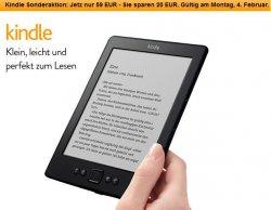 Kindle eReader für 59 € anstatt 79€ @ Amazon! Jetzt schon an Ostern denken…